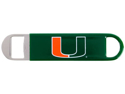 Miami Hurricanes Long Neck Bottle Opener