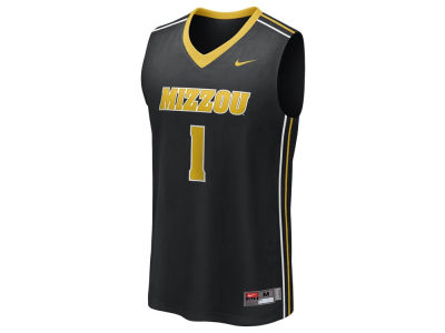 Missouri Tigers Nike NCAA Twill Basketball Jersey