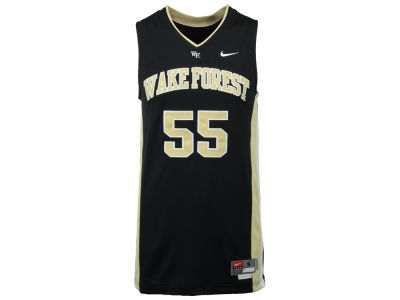 Wake Forest Demon Deacons Nike NCAA Twill Basketball Jersey