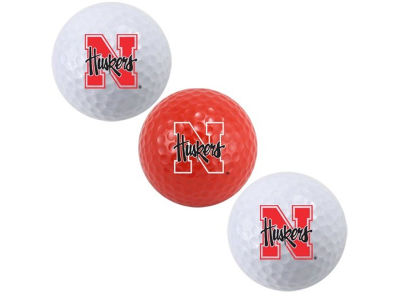 Nebraska Cornhuskers 3-pack Golf Ball Set