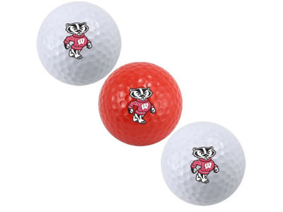 Wisconsin Badgers 3-pack Golf Ball Set
