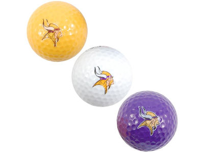 Minnesota Vikings Team Golf 3-pack Golf Ball Set
