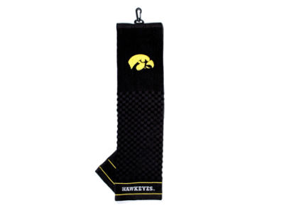 Iowa Hawkeyes Trifold Golf Towel