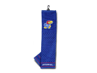 Kansas Jayhawks Trifold Golf Towel