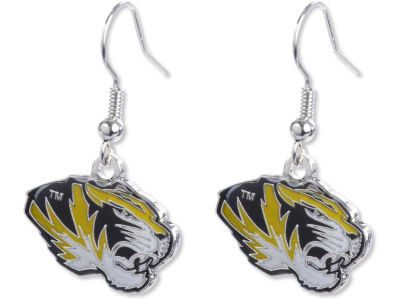 Missouri Tigers Logo Earrings