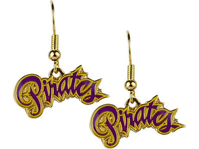 East Carolina Pirates Logo Earrings