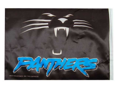 Carolina Panthers Car Flag