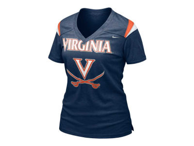 Virginia Cavaliers Nike NCAA Womens Football Replica T-Shirt