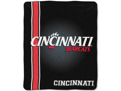 Cincinnati Bearcats 50x60in Plush Throw Team Spirit