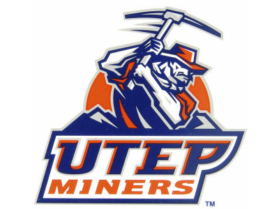 UTEP Miners Static Cling Decal