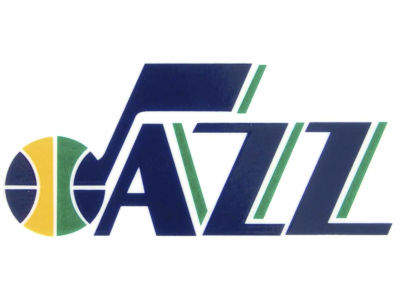 Utah Jazz Static Cling Decal