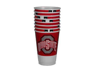 Ohio State Buckeyes 16oz Cups 8 Pack