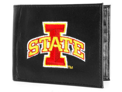 Iowa State Cyclones Black Bifold Wallet