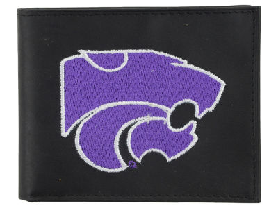 Kansas State Wildcats Black Bifold Wallet