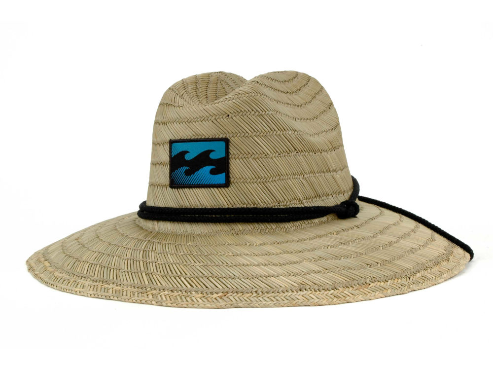 Billabong Scout Straw Lifeguard Hat Lidscom