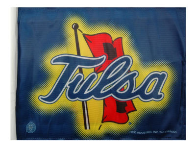 Tulsa Golden Hurricane Car Flag