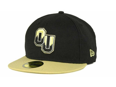 Oakland University New Era NCAA 2 Tone 59FIFTY Cap