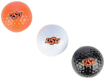 Oklahoma State Cowboys 3-pack Golf Ball Set