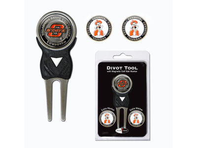 Oklahoma State Cowboys Divot Tool and Markers