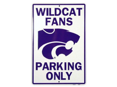 Kansas State Wildcats Parking Sign