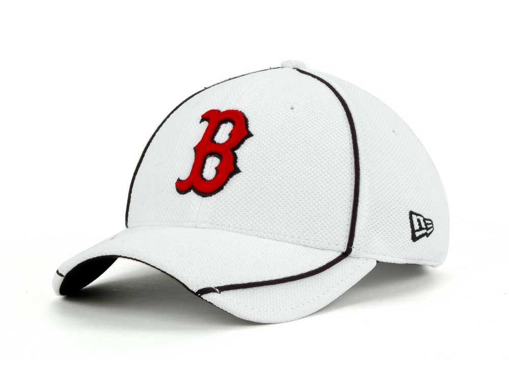 a3ae43f425d Boston Red Sox New Era MLB Batting Practice White 39THIRTY