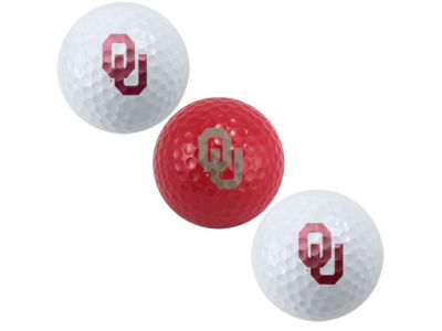 Oklahoma Sooners 3-pack Golf Ball Set