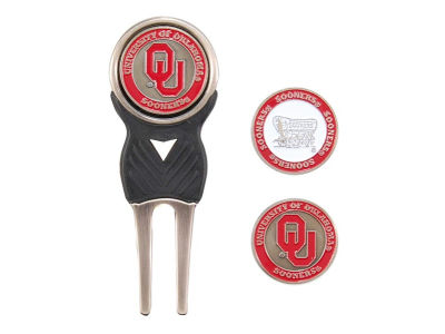 Oklahoma Sooners Divot Tool and Markers