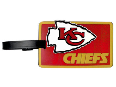 Kansas City Chiefs Soft Bag Tag