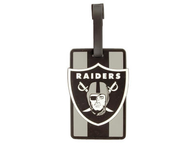 Oakland Raiders Soft Bag Tag