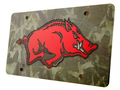Arkansas Razorbacks Camo Laser Tag