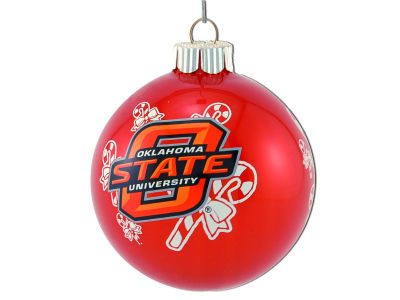 Oklahoma State Cowboys Traditional Round Ornament