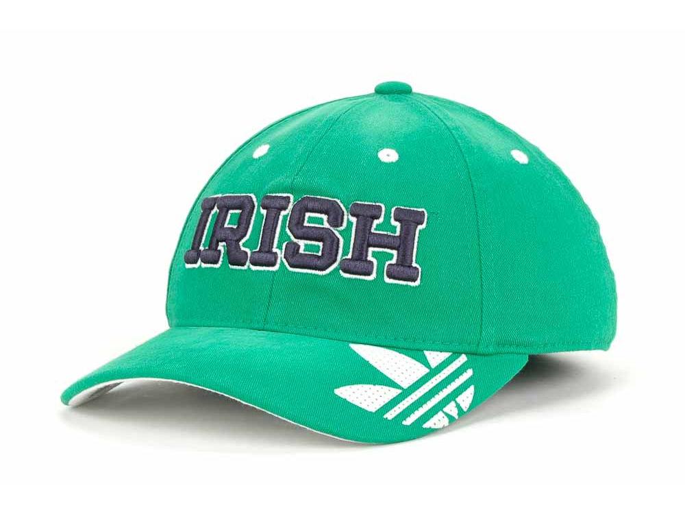 e145ef42f0d Notre Dame Fighting Irish adidas NCAA Original Slope Flex Cap