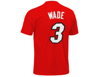 Miami Heat Dwyane Wade adidas NBA Men's Player T-Shirt