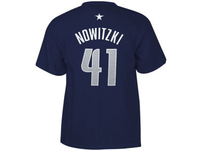 Dallas Mavericks Dirk Nowitzki adidas NBA Men's Player T-Shirt