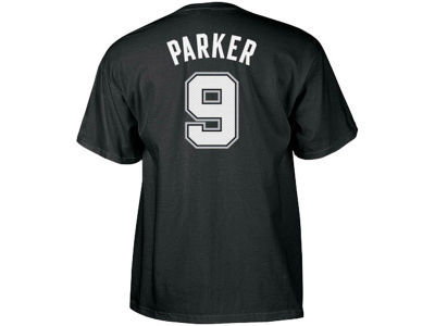 San Antonio Spurs Tony Parker adidas NBA Men's Player T-Shirt