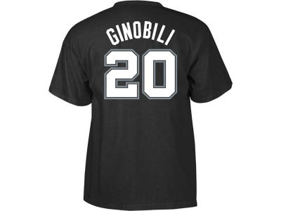 San Antonio Spurs Manu Ginobili adidas NBA Men's Player T-Shirt