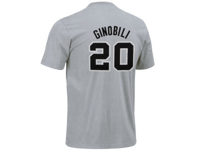 San Antonio Spurs Manu Ginóbili adidas NBA Men's Player T-Shirt
