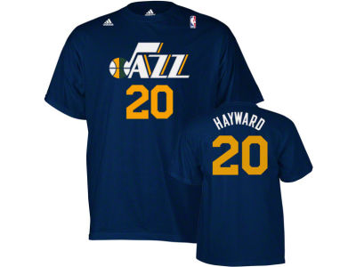 Utah Jazz Gordon Hayward adidas NBA Men's Player T-Shirt