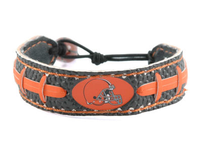 Cleveland Browns Team Color Football Bracelet