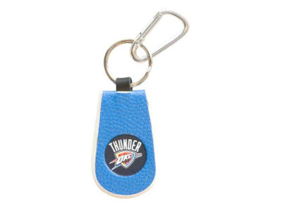 Oklahoma City Thunder Team Color Keychains