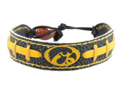 Iowa Hawkeyes Team Color Football Bracelet