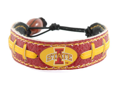 Iowa State Cyclones Team Color Football Bracelet