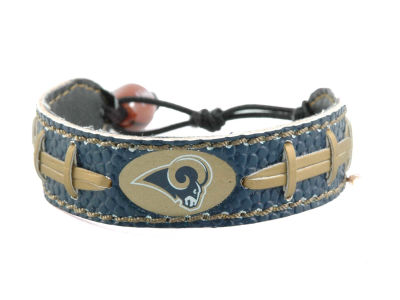 Los Angeles Rams Team Color Football Bracelet