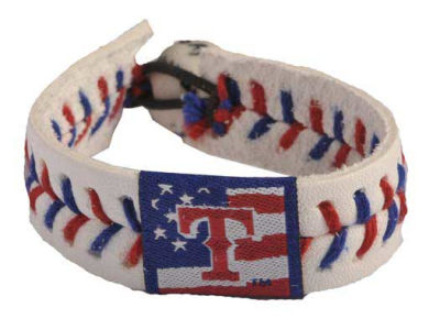 Texas Rangers MLB Stars and Stripes Game Wear Bracelet