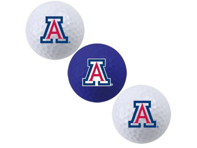 Arizona Wildcats 3-pack Golf Ball Set