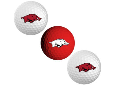 Arkansas Razorbacks 3-pack Golf Ball Set