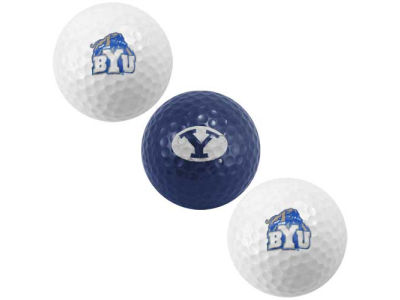 Brigham Young Cougars 3-pack Golf Ball Set