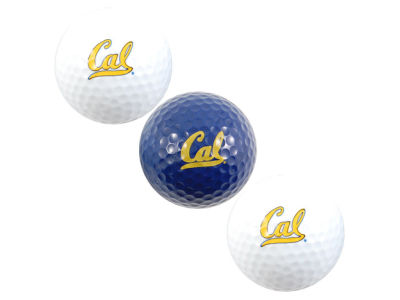 California Golden Bears Team Golf 3-pack Golf Ball Set