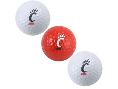 Cincinnati Bearcats 3-pack Golf Ball Set