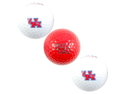 Houston Cougars 3-pack Golf Ball Set